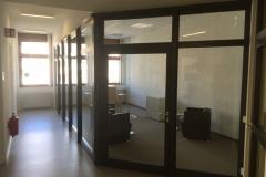 Raum-in-Raum-System aus Glas