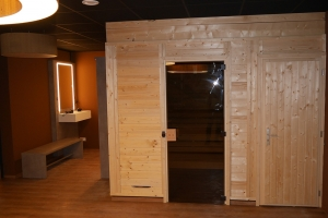 Innenausbau-Fitnessstudio-Sauna