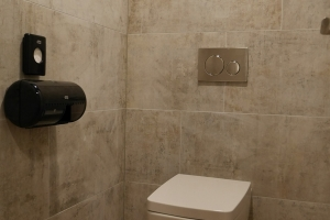Innenausbau-Fitnessstudio-Toiletten